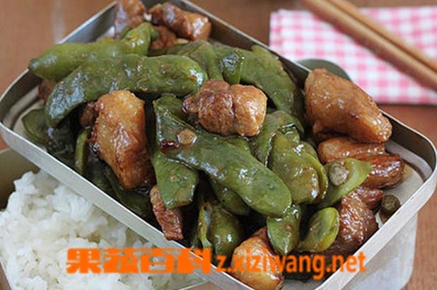 果蔬百科豆角炖肉的做法